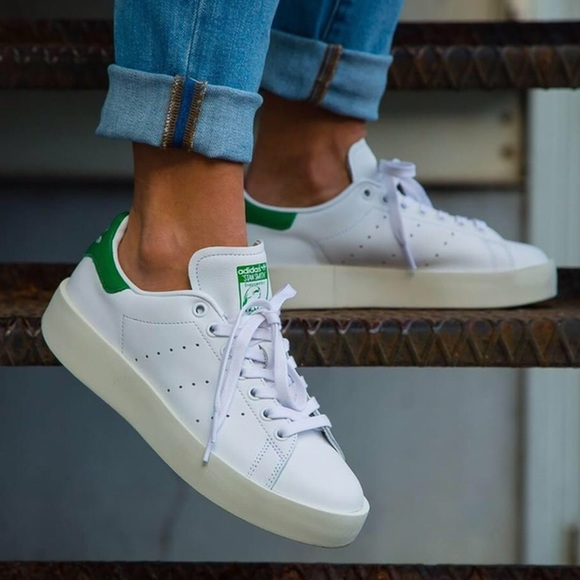 san francisco ddeed f297d Adidas Stan Smith Bold platform sneaker